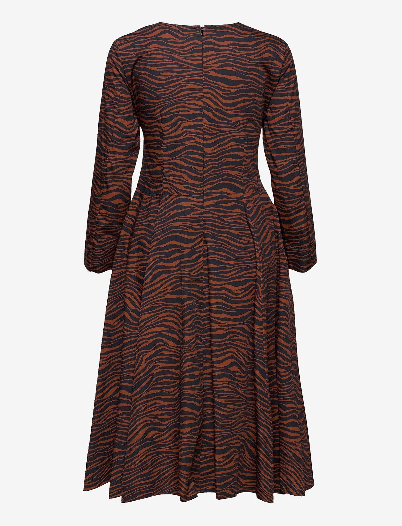Max&Co. - BANDOLO - alledaagse jurken - brown pattern - 1