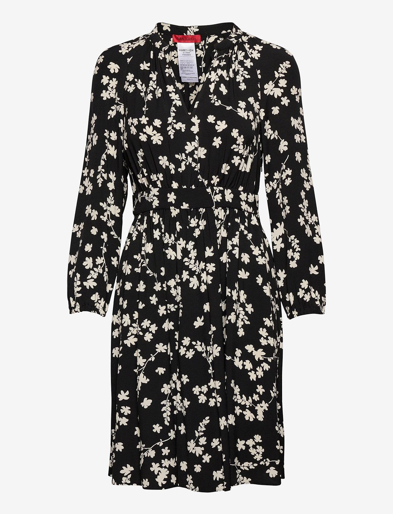 Max&Co. - AGATA - midi jurken - black pattern - 0