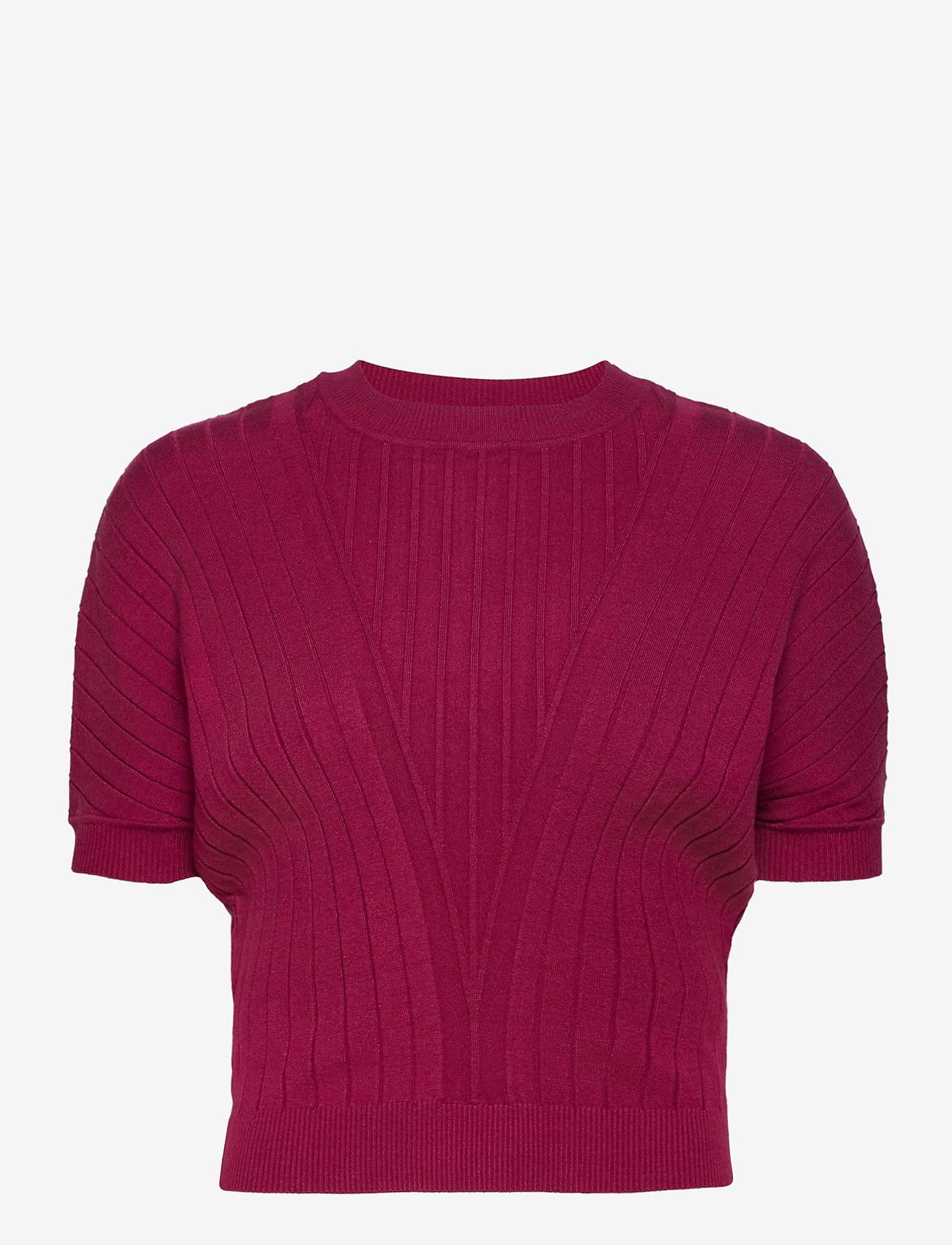 Max&Co. - DAFNE - gebreide t-shirts - burgundy - 0