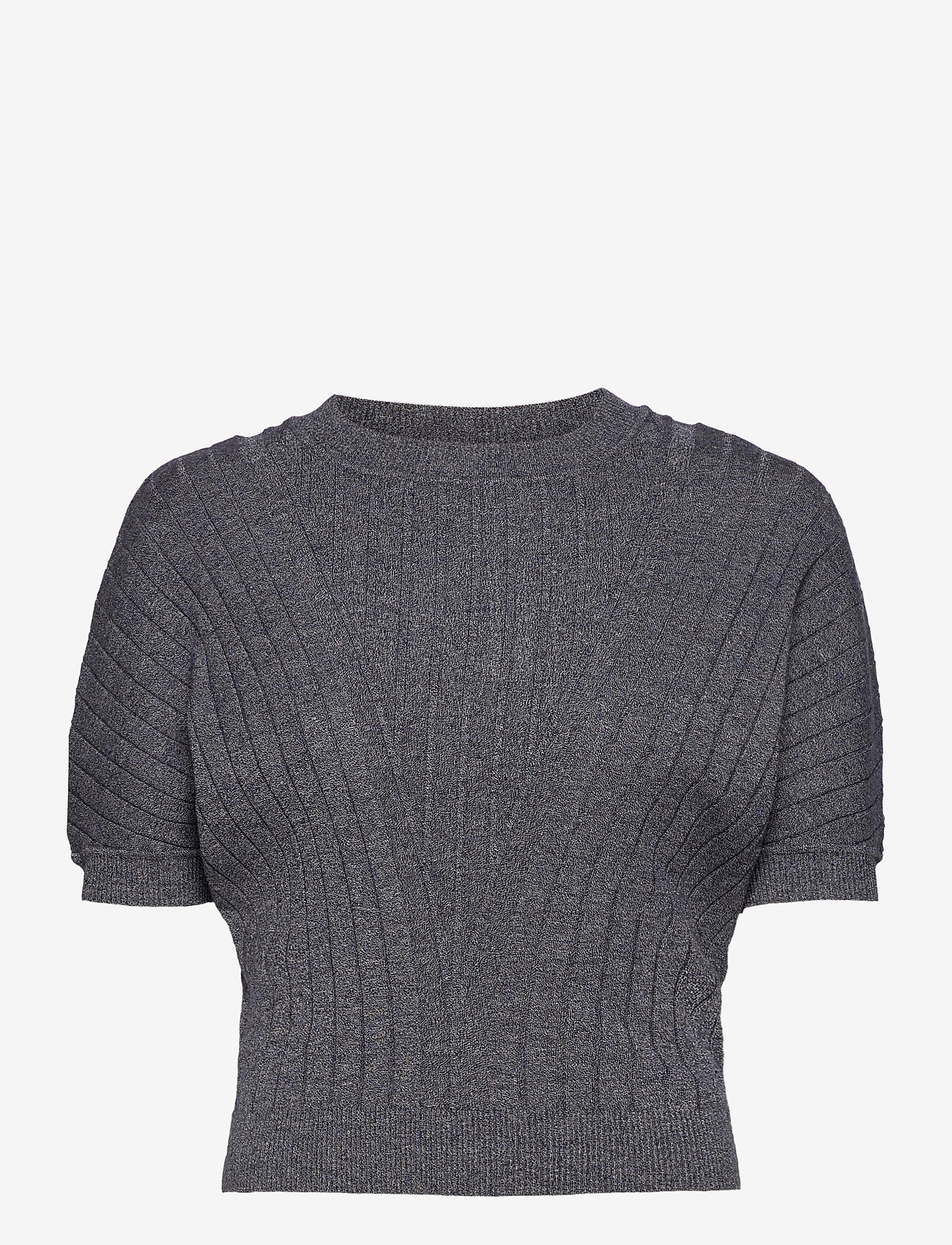 Max&Co. - DAFNE - gebreide t-shirts - navy blue pattern - 0