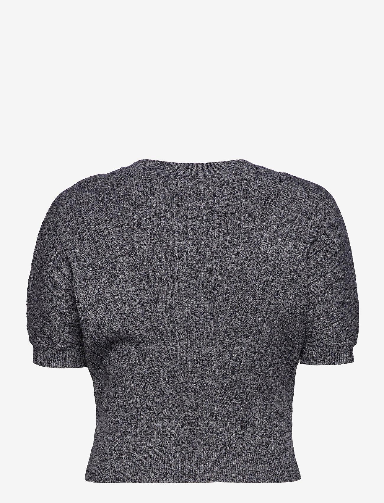 Max&Co. - DAFNE - gebreide t-shirts - navy blue pattern - 1