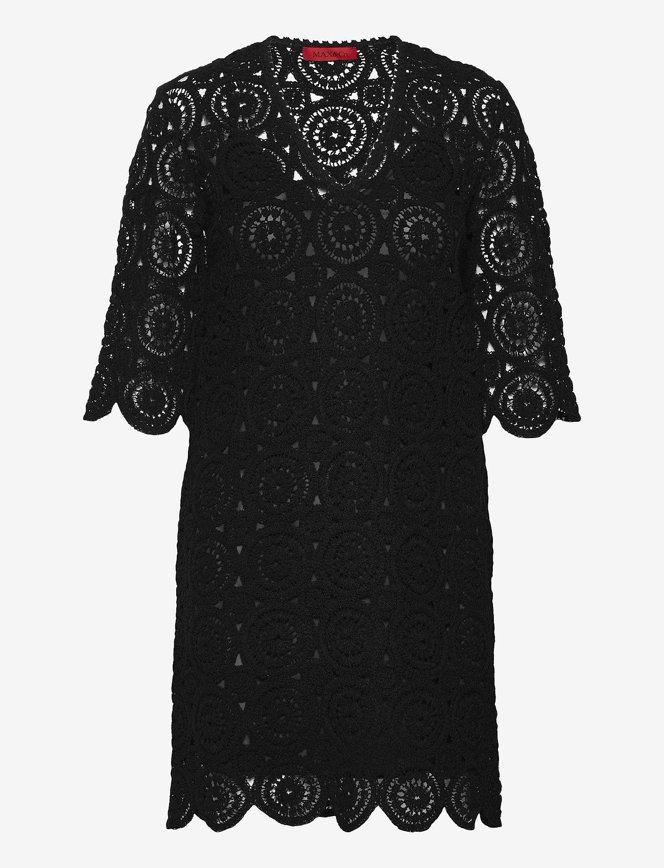 Max&Co. - DARWIN - kanten jurken - black - 0