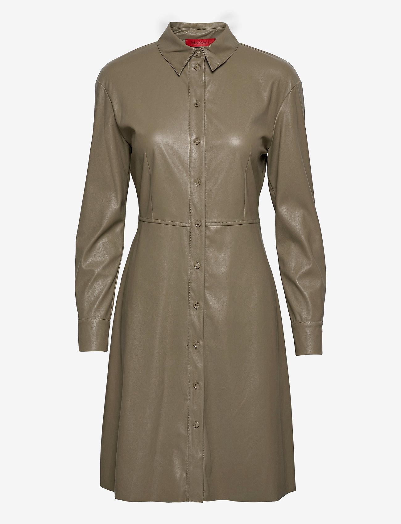 Max&Co. - DANUBIO - midi jurken - khaki green - 0