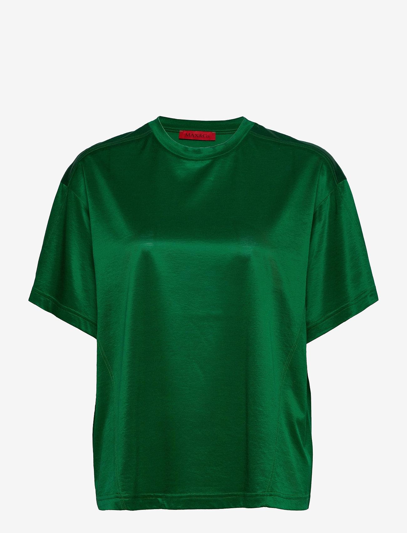 Max&Co. - DARIA - blouses met korte mouwen - green - 0