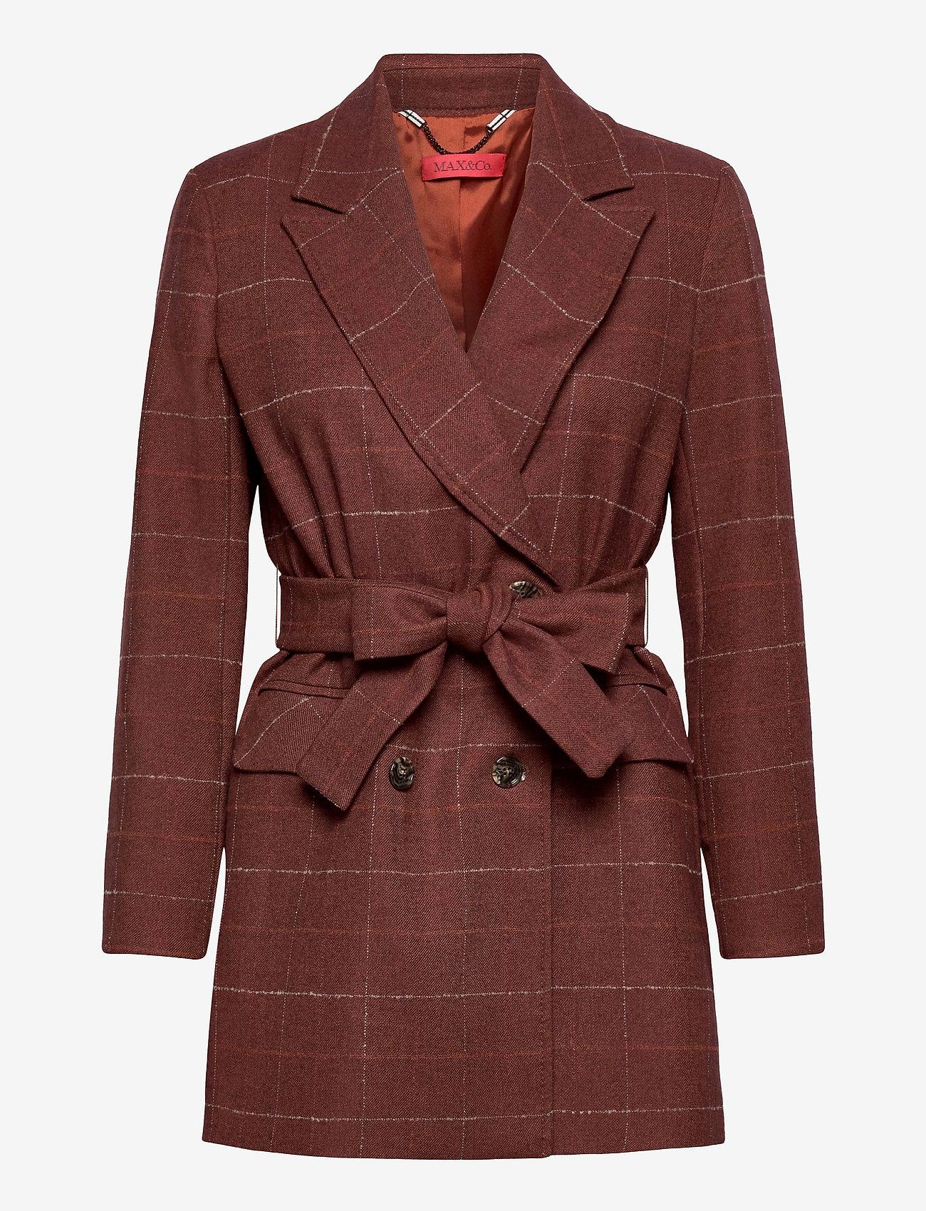 Max&Co. - GROSSETO - casual blazers - rust pattern - 0