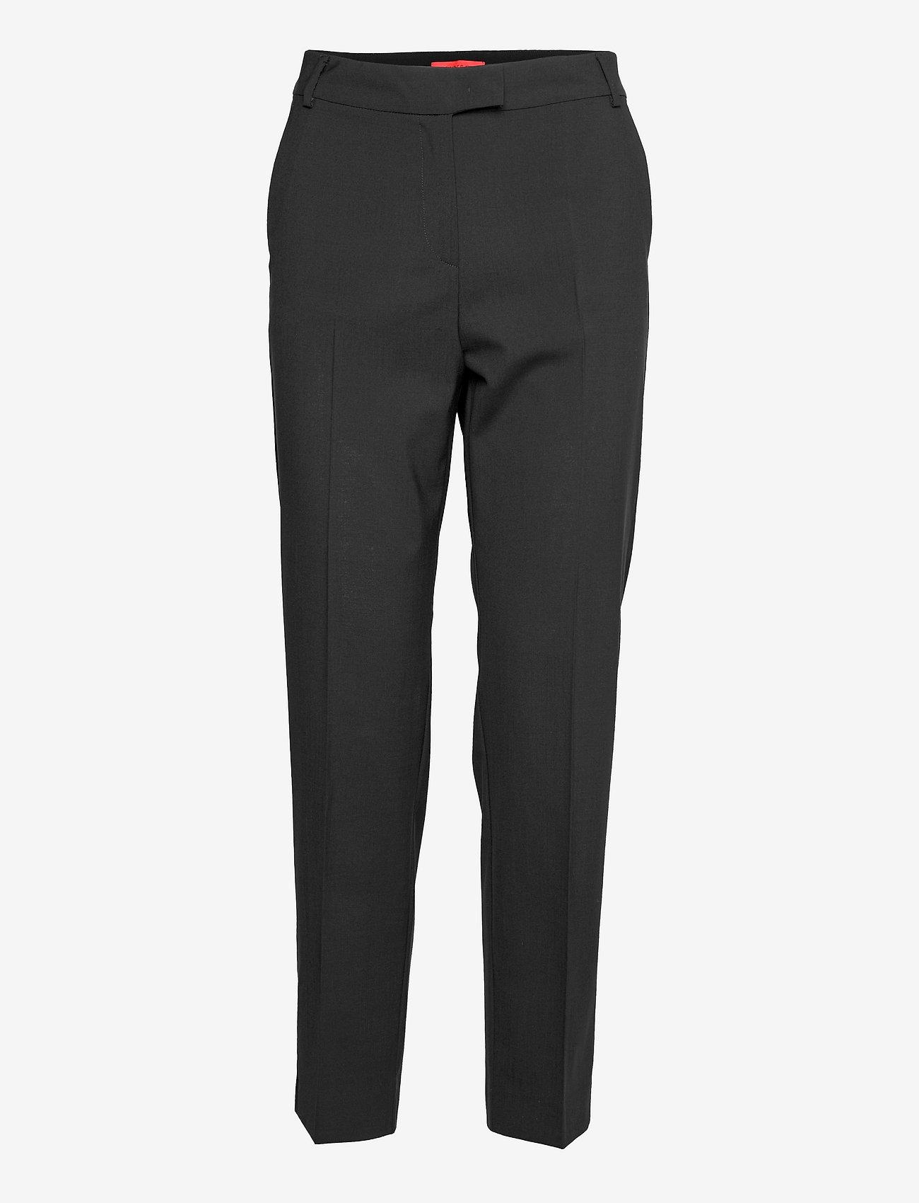 Max&Co. - DORIA - broeken med straight ben - black - 0