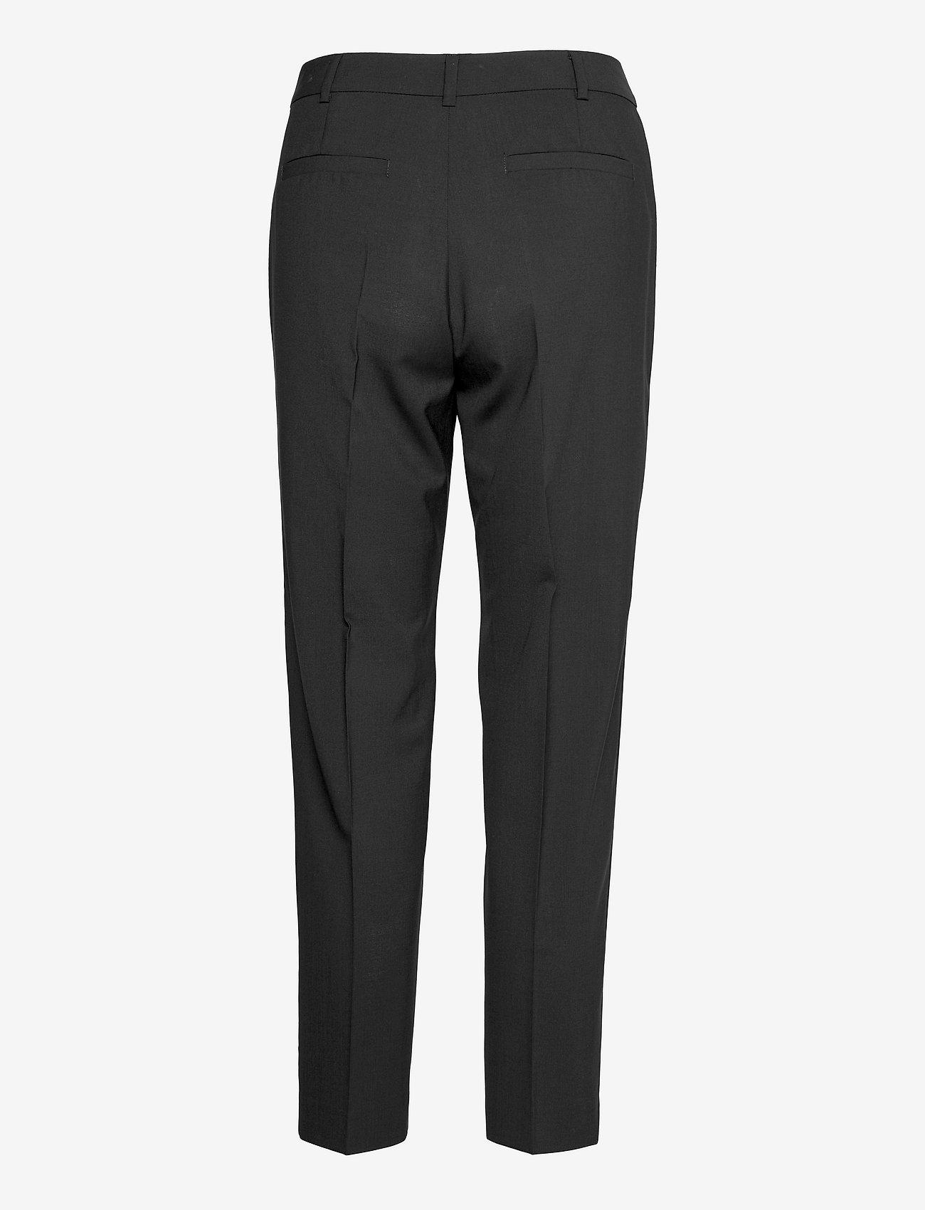 Max&Co. - DORIA - broeken med straight ben - black - 1
