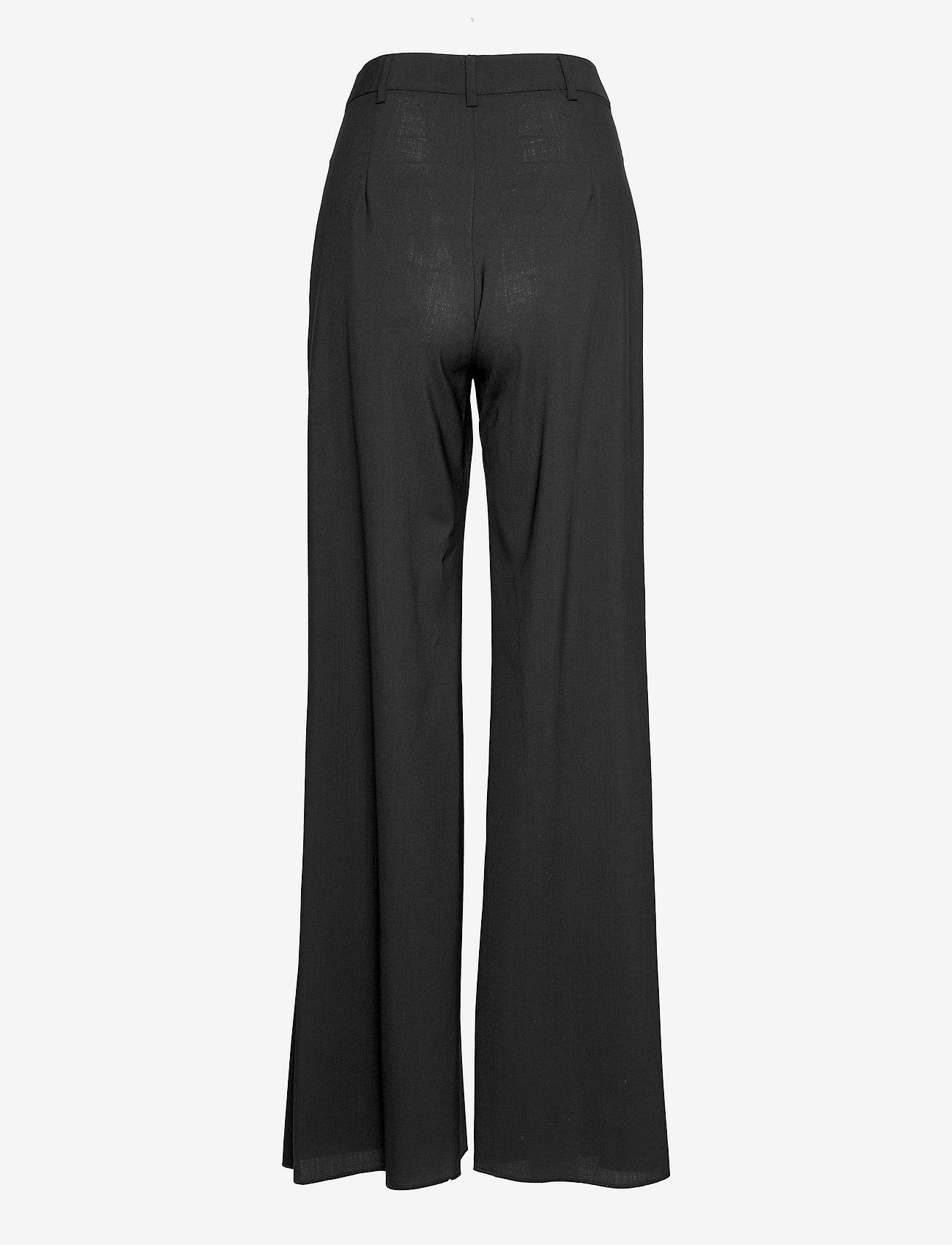 Max&Co. - CINCIN - bukser med brede ben - black - 1