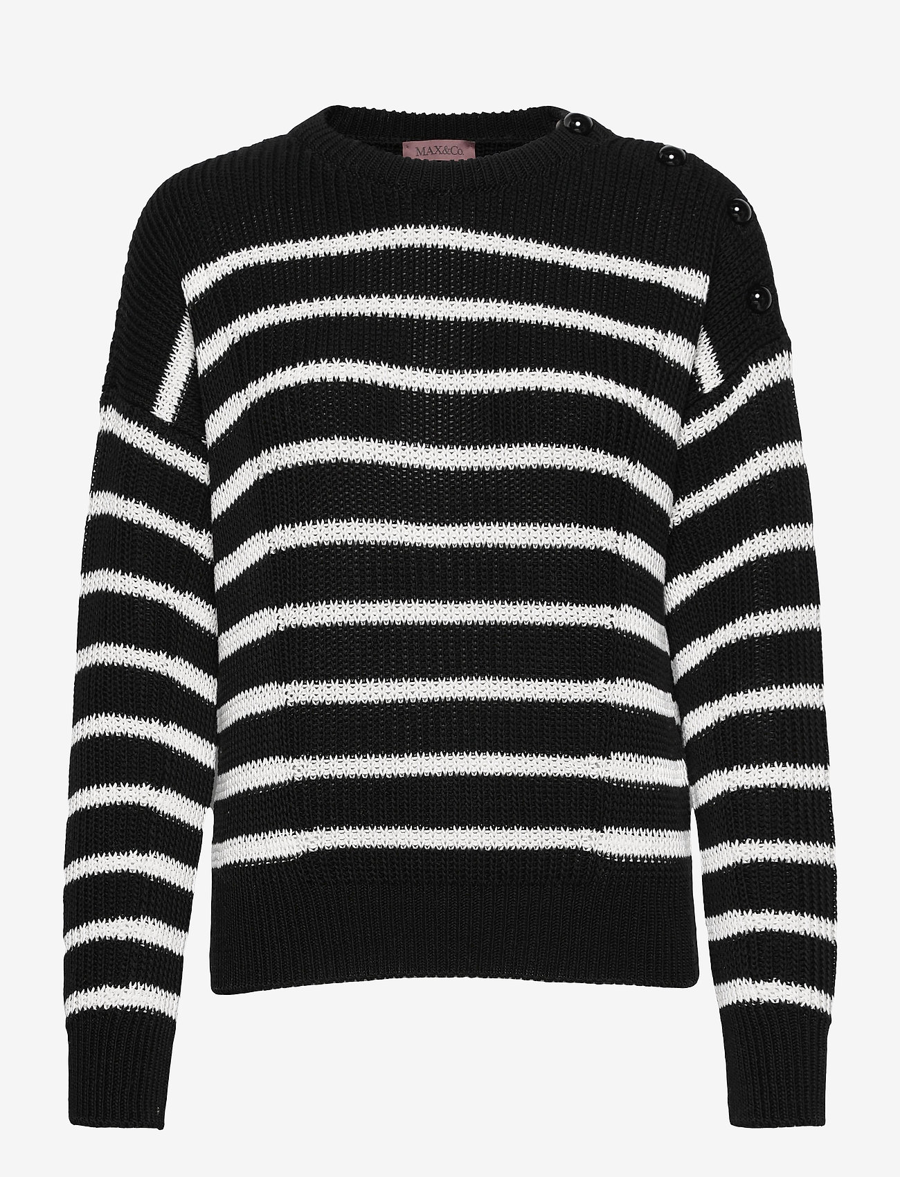 Max&Co. - COTTURA - truien - black pattern - 0