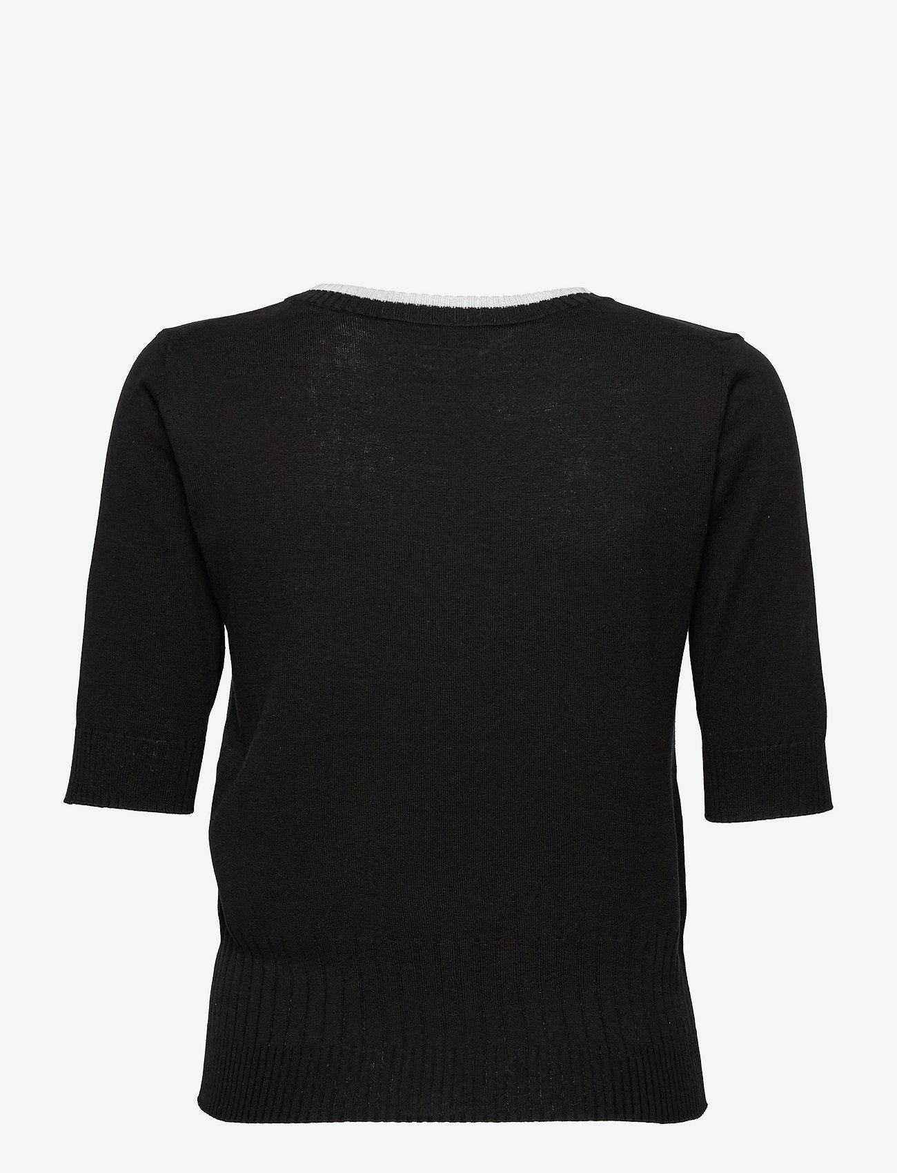 Max&Co. - SAGGIO - gebreide t-shirts - black - 1
