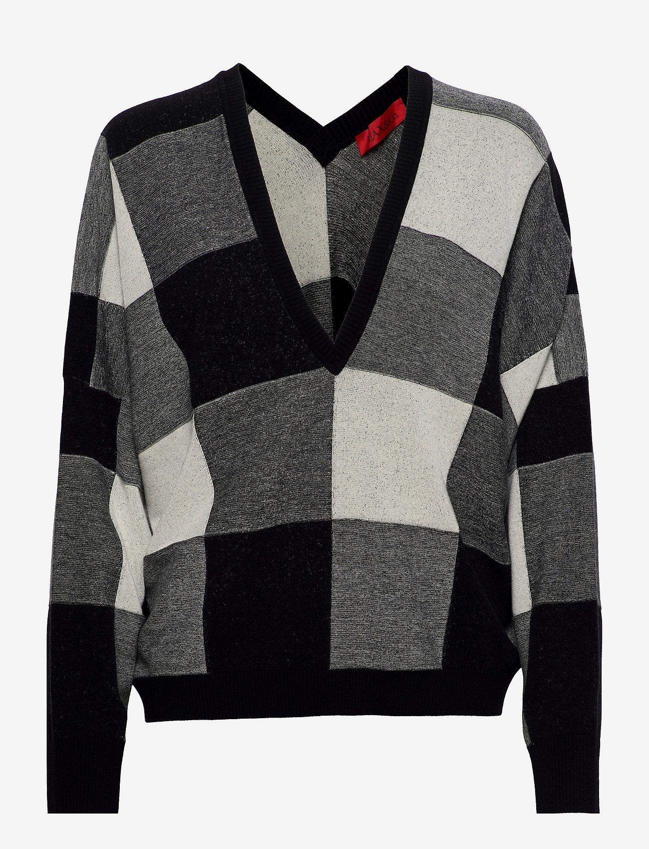 Max&Co. - SAGGIARE - truien - black pattern - 0