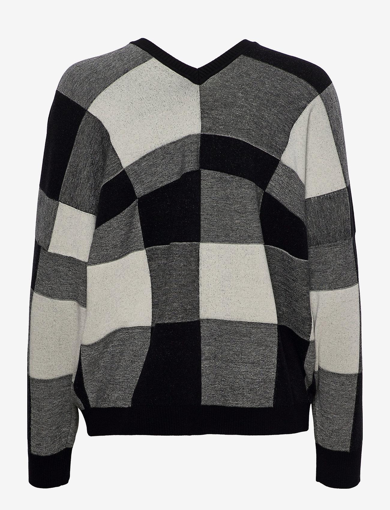 Max&Co. - SAGGIARE - truien - black pattern - 1