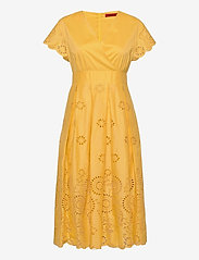 Max&Co. - ODE - zomerjurken - sunshine yellow - 0
