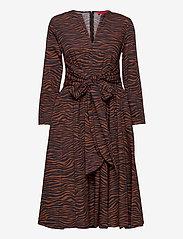 Max&Co. - BANDOLO - alledaagse jurken - brown pattern - 0