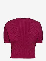 Max&Co. - DAFNE - gebreide t-shirts - burgundy - 1