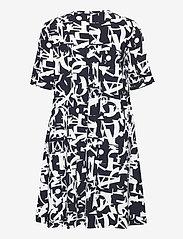Max&Co. - CRONACA - alledaagse jurken - navy blue pattern - 1