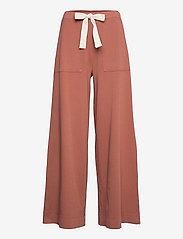 Max&Co. - CIUFFO - bukser med brede ben - old rosa - 0
