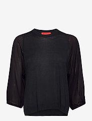 Max&Co. - PROFETA - blouses met lange mouwen - navy blue - 0