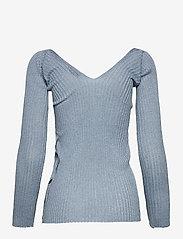 Max&Co. - PROCIDA - gebreide t-shirts - sky blue - 1