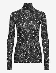 Max&Co. - PRIMIZIA - tops met lange mouwen - black pattern - 0