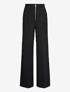 MORESCO - uitlopende broeken - black