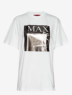 TEE - t-shirts - silver pattern