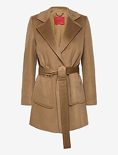 SRUN_ - wool jackets - brown