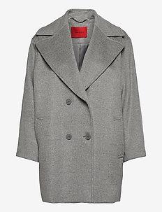 OTTAVIA - wollen jassen - medium grey pattern