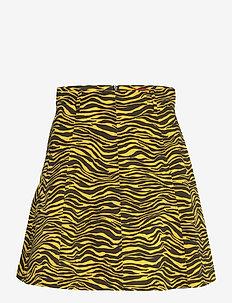 ADORNARE - korte rokken - sunshine yellow pattern