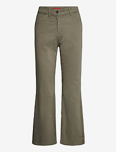 SEMITONO - broeken - khaki green
