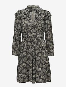DENISE - korta klänningar - black pattern
