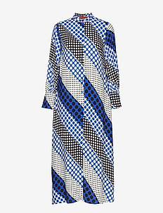 DESTATO - skjortekjoler - turquoise pattern