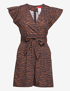 FATTORE - jumpsuits - brown pattern