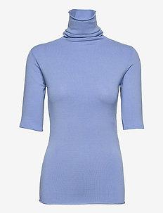 DADO - gebreide t-shirts - vega blue