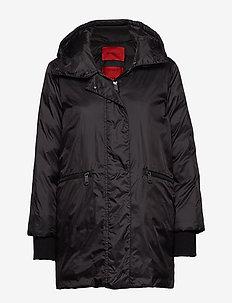 DIAMETRO - dun- & vadderade jackor - black
