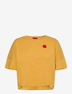 DAVVERO - navel shirts - pale yellow