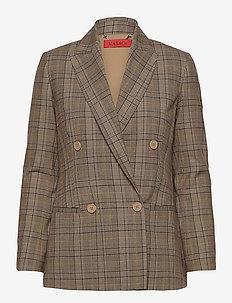 CAGLIARI - oversized blazers - beige pattern