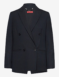 CAGLIARI - oversized blazers - midnight blue