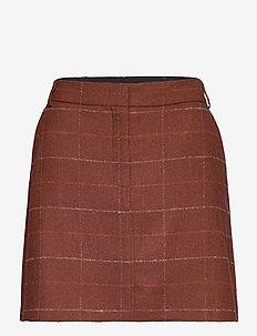 RUBINO - kort skjørt - rust pattern
