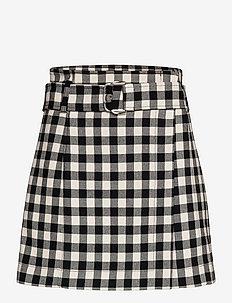 LATTA - korte rokken - black pattern