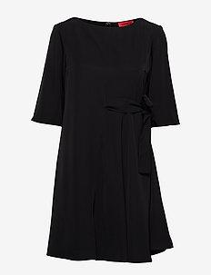 CANARINO - korta klänningar - black