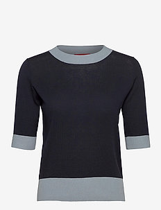 COSMICO - knitted tops & t-shirts - blue