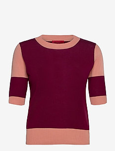 COSMICO - knitted tops & t-shirts - red