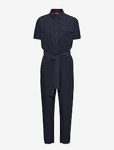 CUBISMO - jumpsuits - navy blue
