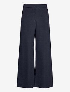 CREMA - uitlopende broeken - lyra blue