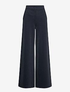 CREMA - uitlopende broeken - navy blue
