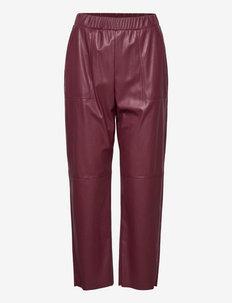 COLOSSO - lederhosen - burgundy