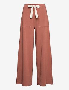 CIUFFO - bukser med brede ben - old rosa