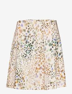 PATRONO - korta kjolar - ivory pattern