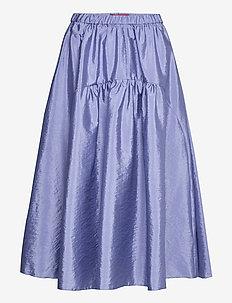 NARRARE - midi rokken - cornflower blue